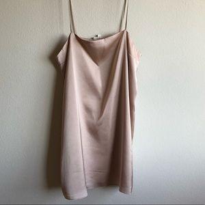 Cotton Candy LA - Champagne colored slip dress